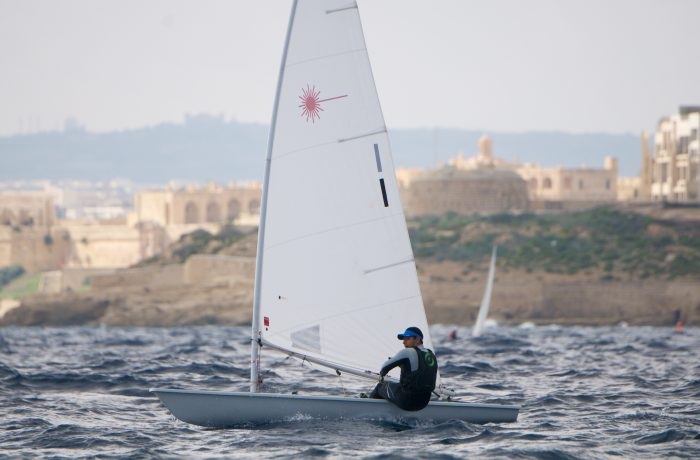 Laser – an Olympic-class sailboat for adults and youth alike
