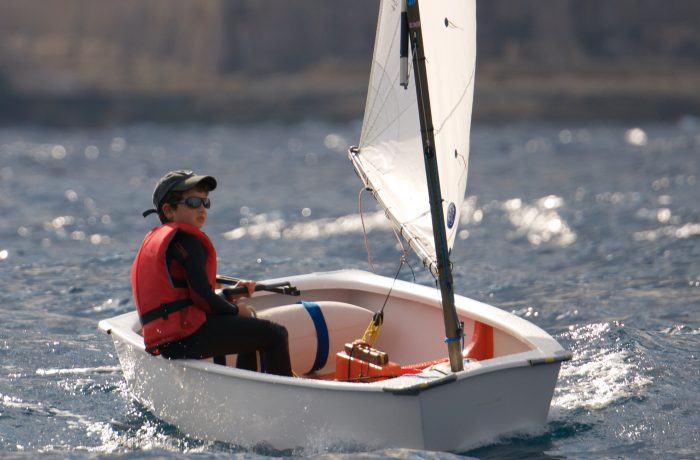 Optimist – world's number 1 boat for the under 16's