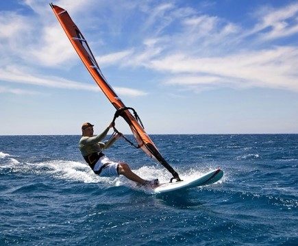 Windsurfing – surfing and sailing